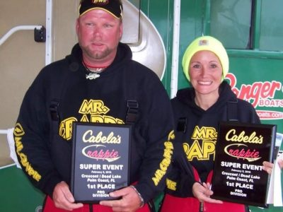 Eric and Leann winners
