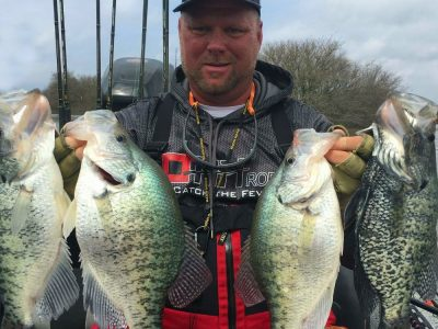 Eric with Crappies